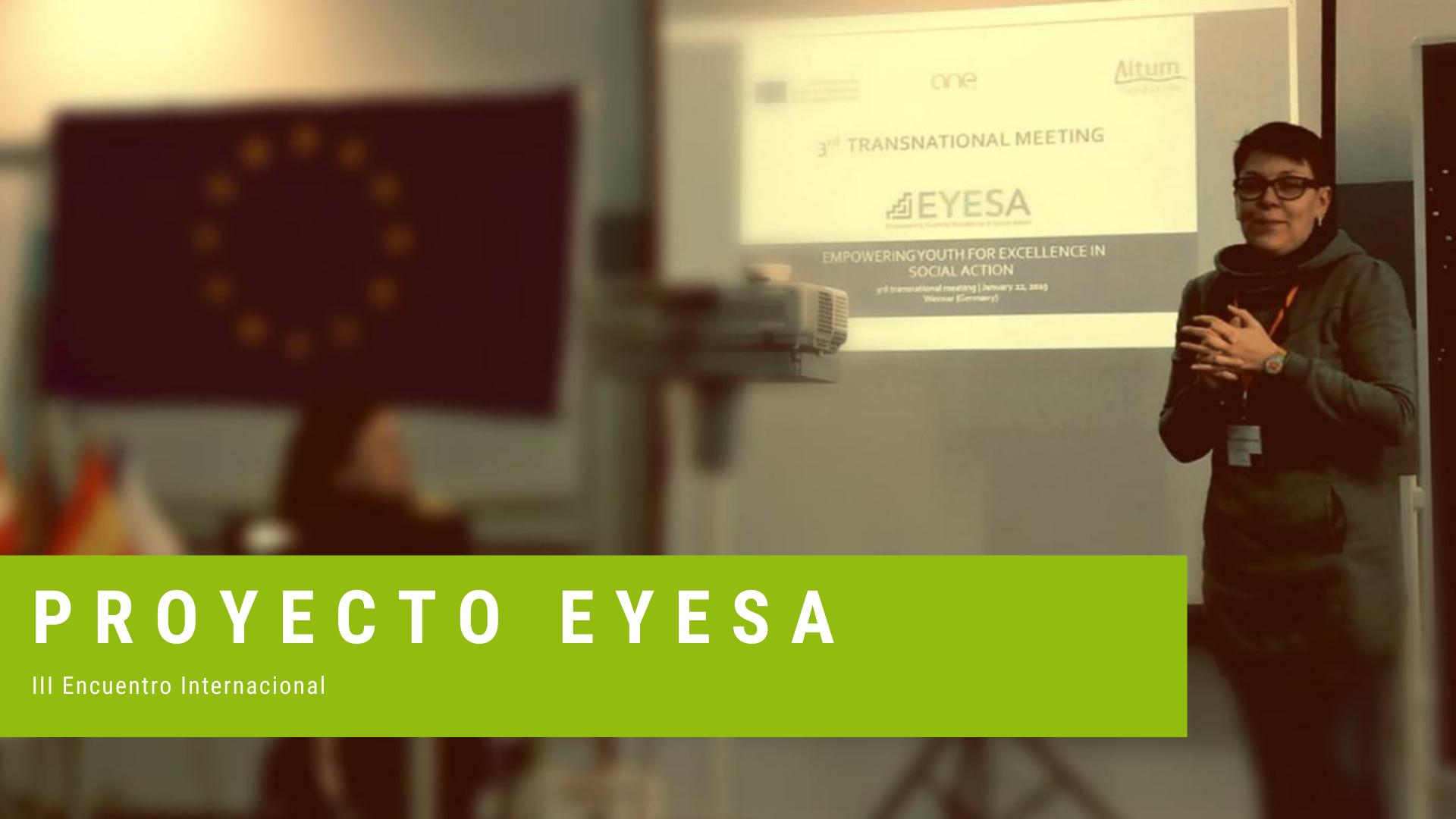 EYESA III Encuentro internacional